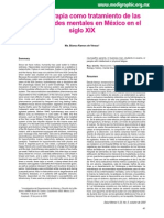 Revista - Medigraphic - 2000 - Hidroterapia en Enfermedades Mentales