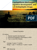 Subclinical epileptiform discharges in atypical cognitive development and a Review of Antiepileptic Drugs