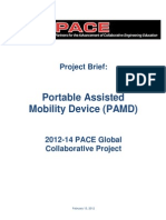 PAMD Project Brief
