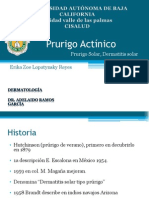 Prurigo Actínico