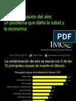 Contaminación del aire México
