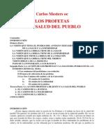 Mesters.profetas y Salud Del Pueblo