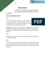 Marco práctico diagramas de procesos A y N