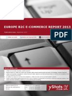 Europe B2C E-Commerce Report 2013_by yStats