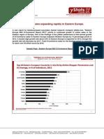 Eastern Europe B2C E-Commerce Report 2013
