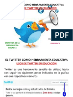 El Twiter Como Herramienta Educativa... Anny