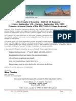LPA D10 2009 Fall Regional Registration Packet