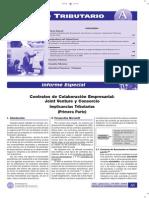 Contratos de Colaboracion Empresarial Joint Venture 1ra Parte