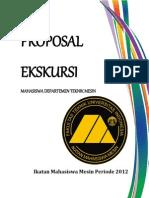 Proposal Ekskursi Mesin 2012 DTM