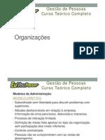 Módulo 03 - Aula 001 - Organizações