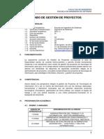 Silabo_gestion de Proyectos