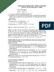 Đáp án đề thi ĐH môn Toán khối A 2009