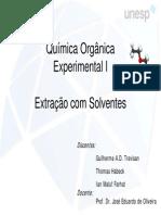 Extração com solventes BAC 2007