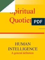SQ - Spiritual Quotient