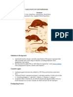 Case Study of Leptospirosis