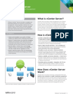 VMware vCenter Server Datasheet