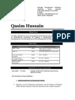 Qasim cv for HR