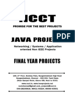 2013-14 Java Project Titles, (Non IEEE) Networking & Appl JAVA Project List - NCCT