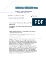 Preservacion de La Placenta-tecnica