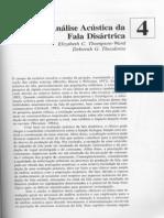 Analisis Acustico Del Habla Disartrica MURDOCH