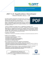 NET 4.5 Application Developer - Vs 2012 y C#