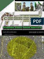 2 PRESENTACIÓN proy. urbano Col. Guerrero