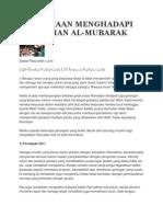Persediaan Menghadapi Ramadhan Al Mubarak