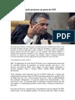 Marco Aurélio pede protestos na porta do STF