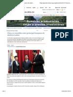 China se consolida como principal banquero de América Latina