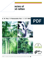 Priority Species of Bamboo and Rattan