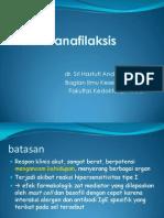 reaksi anafilaksis