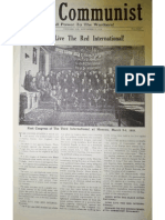 The Communist, Vol. 1 No. 9, Nov. 29, 1919