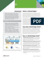 VMware vShield5 Edge Datasheet