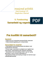 6. Samarbeid og organisasjon