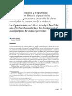 Gobiernos Locales y Seguridad en Brasil