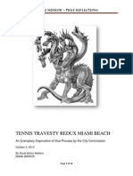 Travesty Redux Miami Beach