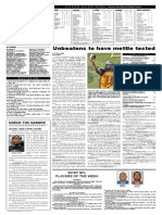 Black College Sports Page, Vol 20, No 8