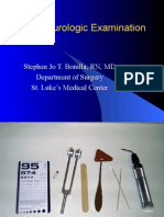 2. Neurologic Examination
