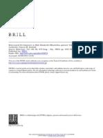 Behavioural Development in Male Mandrills (Mandrillus sphinx)