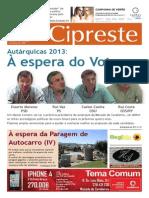 Cipreste 32, Set 2013
