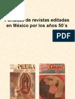 Portadas de revistas editadas en México por los
