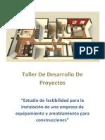 Taller de Desarrollo de Proyectos XD