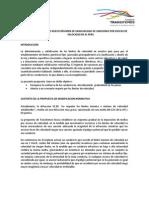 PROPUESTA DE NUEVO RÉGIMEN DE GRADUALIDAD DE SANCIONES POR EXCESO DE VELOCIDAD