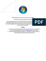 vista error - no logon server available