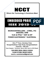 Embedded System Titles 2013-14, IEEE & Non IEEE Project Titles (Complete Reference) in Embedded, Power Electronics, VLSI, DSP, Matlab - Complete Reference