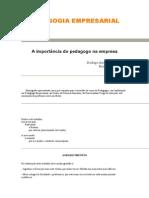 MONOGRAFIA PEDAGOGIA EMPRESARIAL1