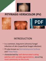 Pityriasis Versicolor Part 1
