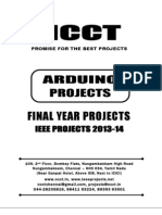 2013 IEEE Arduino Project Titles, NCCT - IEEE 2013 Arduino Project List