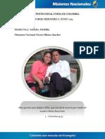 INFORME MISIONERO A JUNIO 2013 - LAURELES, MEDELLÍN - DISTRITO 9