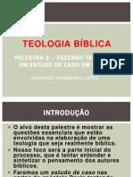 Palestra 3 - Teologia Paulina – Um Estudo de Caso